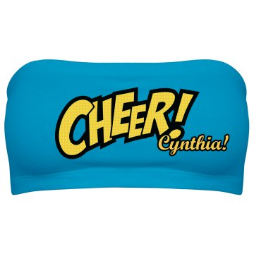 Cynthia at Cheer Camp
