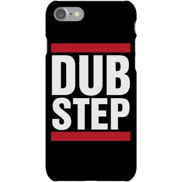 Run DM Dubstep Plastic iPhone 5 Case Black
