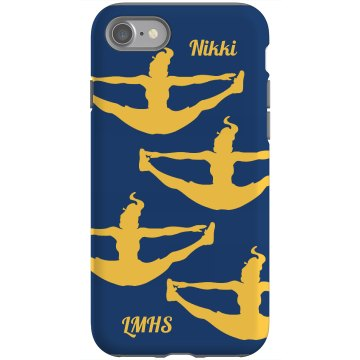 Cheer iPhone 4 Case Rubber iPhone 4 &amp; 4S Case Black