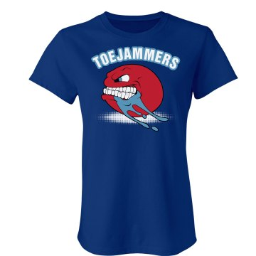Toejammer Team Junior Fit Bella Crewneck Jersey Tee