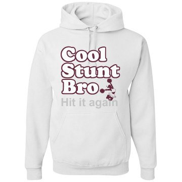 Hit It Again Rhinestone  Unisex Hanes Ultimate Cotton Heavyweight Hoodie