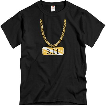Pi to the 3.14 FOOL! Unisex Gildan Heavy Cotton Crew Neck Tee