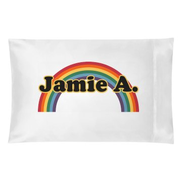 Rainbow Pillowcase Pillowcase