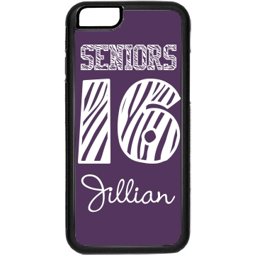 Seniors '13 iPhone Rubber iPhone 4 & 4S Case Black