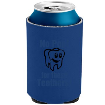 No Pop For These Teeth! The Official KOOZIE Can Kooler
