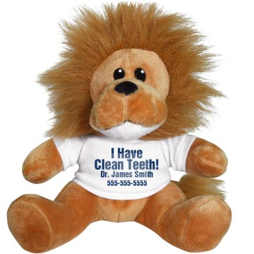 I Have Clean Teeth! Plush Lion