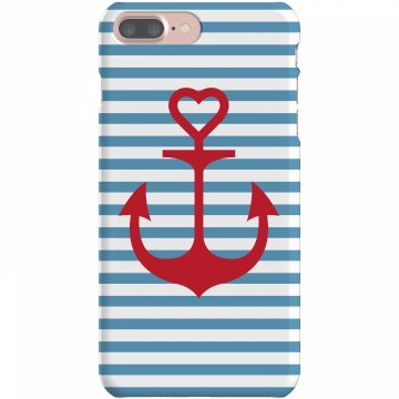 Anchor Love iPhone Case Plastic iPhone 5 Case White