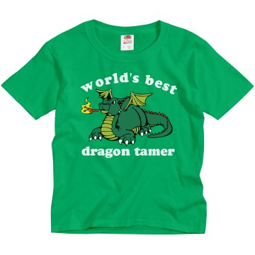 Dragon Tamer T-Shirt Youth Gildan Ultra Cotton Crew Neck Tee