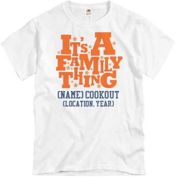 Watson Family Reunion Unisex Basic Gildan Heavy Cotton Crew Neck Tee