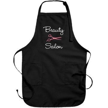 Beauty Rhinestone Apron Port Authority Adjustable Full Length Apron