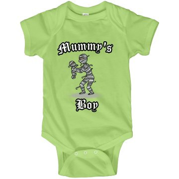 Mummy's Boy Infant Rabbit Skins Lap Shoulder Creeper