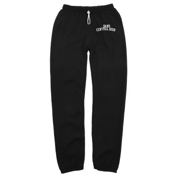 Central Band Sweatpants Unisex Gildan Ultra Blend Open Bottom Pocketed Sweatpants