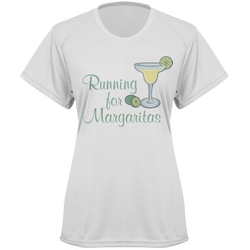 Running For Margaritas Paragon Women's Performance Tee