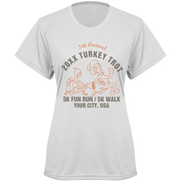 Thanksgiving Trot Race Paragon Women&#x27;s Performance Tee