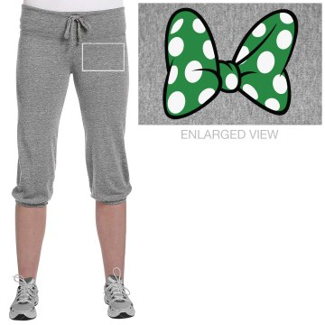 Cheer Girl Junior Fit Bella French Terry Lounge Pants