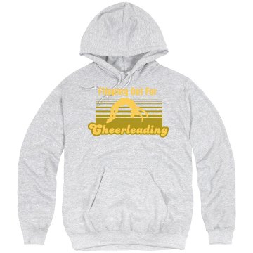 Flipping Out Hoodie Unisex Hanes Ultimate Cotton Heavyweight Hoodie