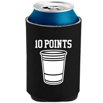 Pong +10 Points The Official KOOZIE Can Kooler