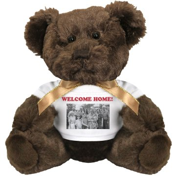 Welcome Home Plush Bulldog