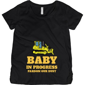 Baby Under Construction Maternity LA T Sportswear Tee