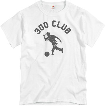 300 Club Bowler Unisex Gildan Heavy Cotton Crew Neck Tee