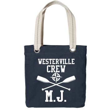 Crew Custom Tote Port Authority Color Canvas Tote