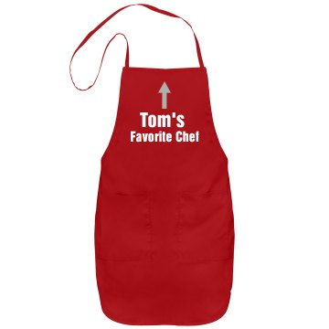 Tom's Chef Port Authority Adjustable Full Length Apron