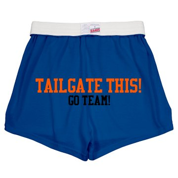Tailgate THIS! Junior Fit Soffe Cheer Shorts