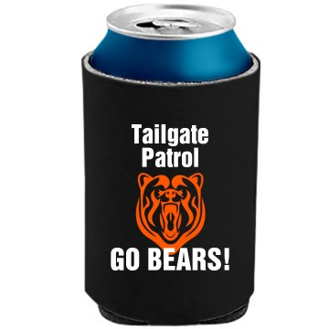 Bears Tailgating Patrol The Official KOOZIE Can Kooler