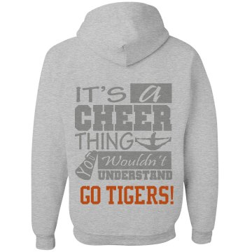 It's a Cheer Thing Hoodie Unisex Gildan Heavy Blend Full Zip Hoodie