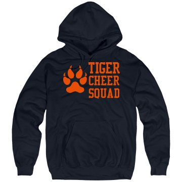 Tiger Cheer Squad Unisex Gildan Heavy Blend Hoodie