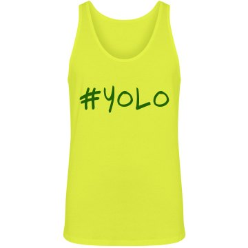 Neon YOLO Unisex American Apparel Neon Tank