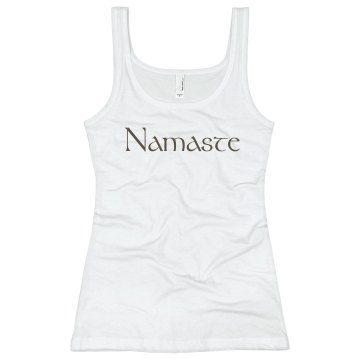 Namaste Junior Fit Basic Bella 2x1 Rib Tank Top