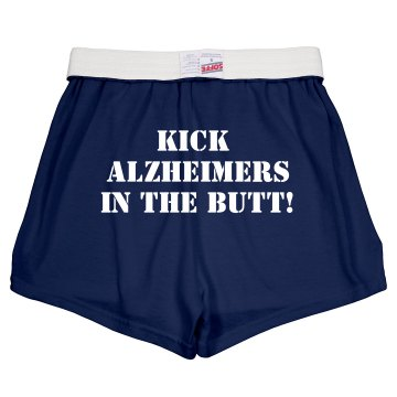 Alzheimer's Short Junior Fit Soffe Cheer Shorts
