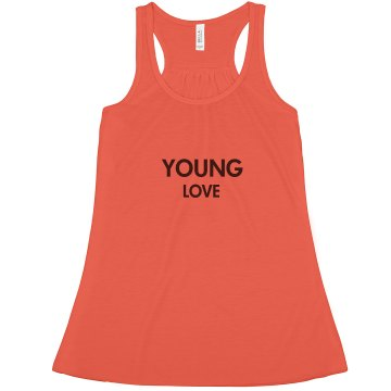 Young Love Tank Misses Bella Flowy Lightweight Tank