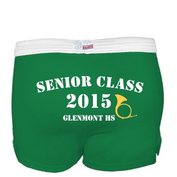 Senior Class Shorts Junior Fit Soffe Cheer Shorts