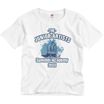 Junior Artists Summer Youth Gildan Ultra Cotton Crew Neck Tee