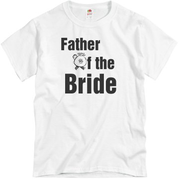 Father Of The Bride Unisex Basic Gildan Heavy Cotton Crew Neck Tee