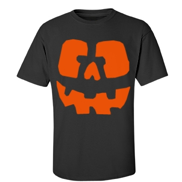 Dad Pumpkin Unisex Gildan Heavy Cotton Crew Neck Tee