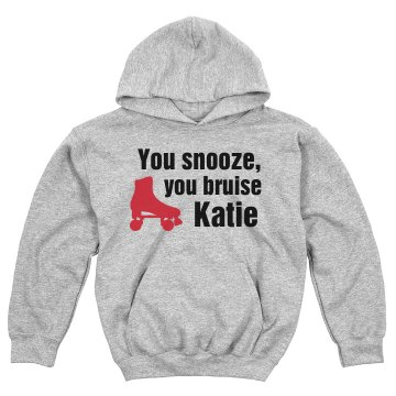 You Snooze You Bruise Youth Gildan Heavy Blend Hoodie