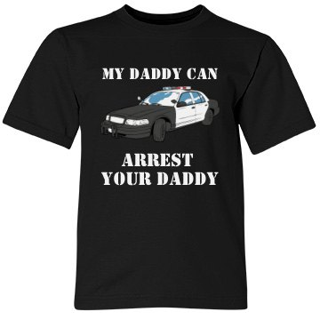 Daddy Is A Police Officer