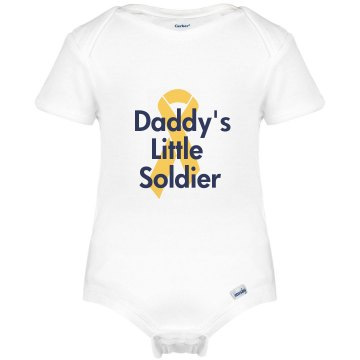 Daddy's Soldier Onesie