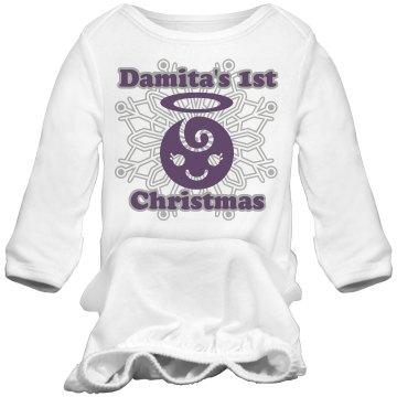 Damita's 1st Christmas