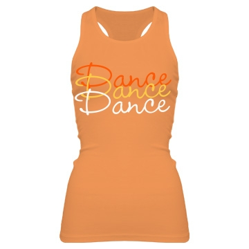 Dance Color Tank Junior Fit Bella Sheer Longer Length Rib Racerback Tank Top