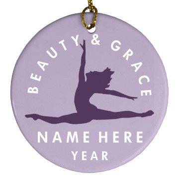 Dancer Gymnastics Fan