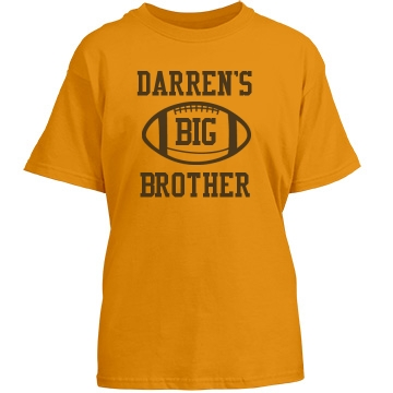 Darren's Big Brother Youth Gildan Heavy Cotton Crew Neck Tee
