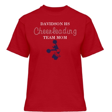 Davidson HS Team Mom Misses Relaxed Fit Gildan Heavy Cotton Tee