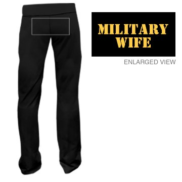 Military Wife Junior Fit Bella Fitness Pants