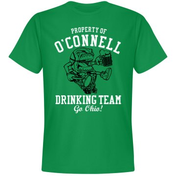 O'Connell Drinking Team Unisex Gildan Heavy Cotton Crew Neck Tee