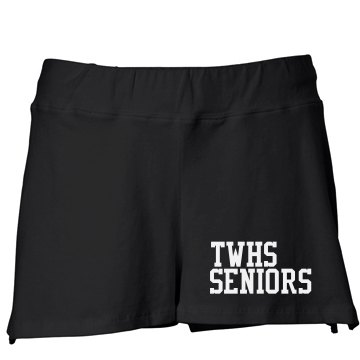 OSU Senior Shorts w/ Back Junior Fit Bella Fitness Shorts