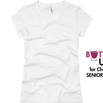 Chelsies Senior Bar Crawl Junior Fit Basic Bella Favorite Tee